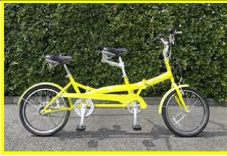 タンデム自転車の特徴